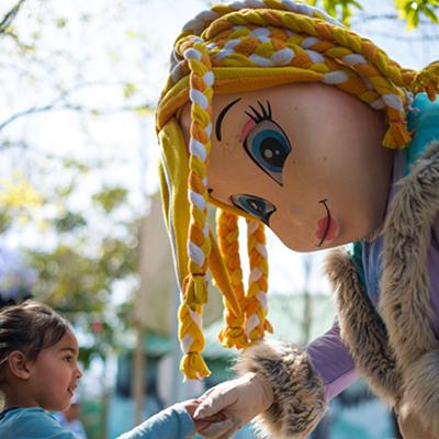 Kids parties fun activities - Meet & Greet with Character