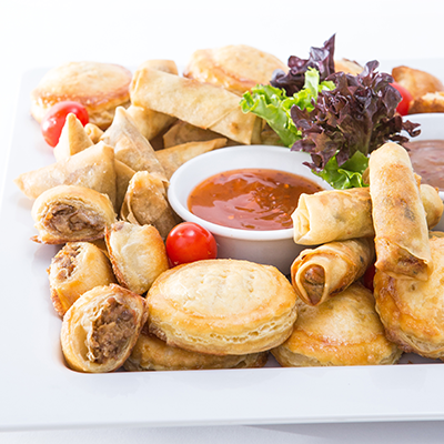 Adult catering at kids parties - Pastry Platter