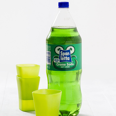 Adult catering at kids parties - 2L Creme Soda