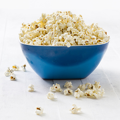 Kids Parties - Bowl of popcorn