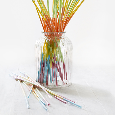 Kids Parties - Sherbet Straws Jar