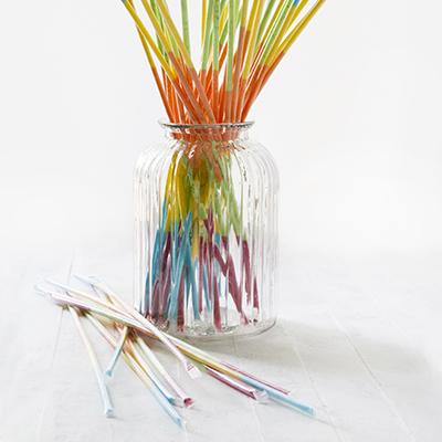 Kids Parties - Sherbet Straws Jar