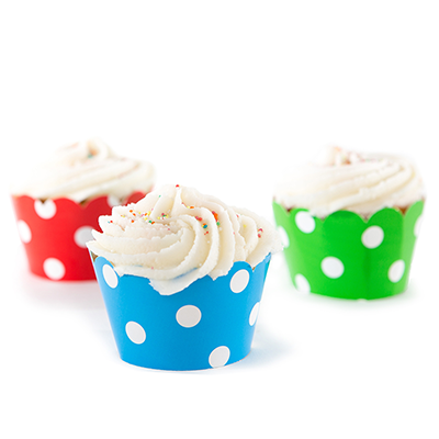 Kids Parties - Plain Cupcakes