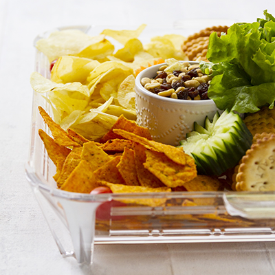 Adult catering at kids parties - Chips & Dip Platter