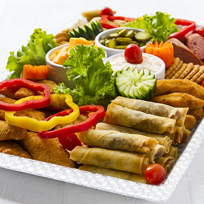 Adult catering at kids parties - Savoury Platter