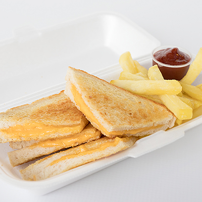 Kids Parties - Cheese Toastie & Chips