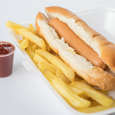 Kids Parties - Hotdog & Chipsx