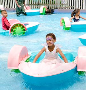 Rowing Boats - Rides at Bugz Family Playpark
