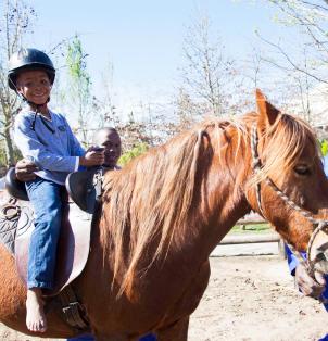 Kids entertainment - Horse Rides