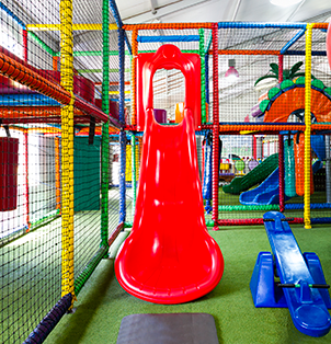 For the best kids entertainment visit the indoor play areas at Bugz Family Playpark.