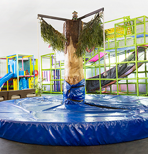 Looking for family fun in Cape Town? Let your kids play in the indoor play areas at Bugz Family Playpark.