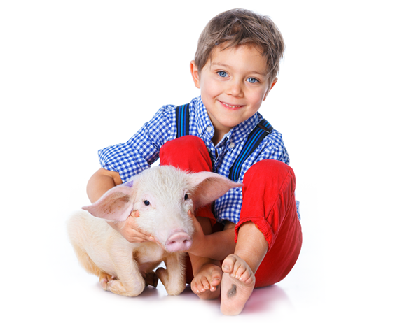 We know just how important it is for little ones to interact with animals.