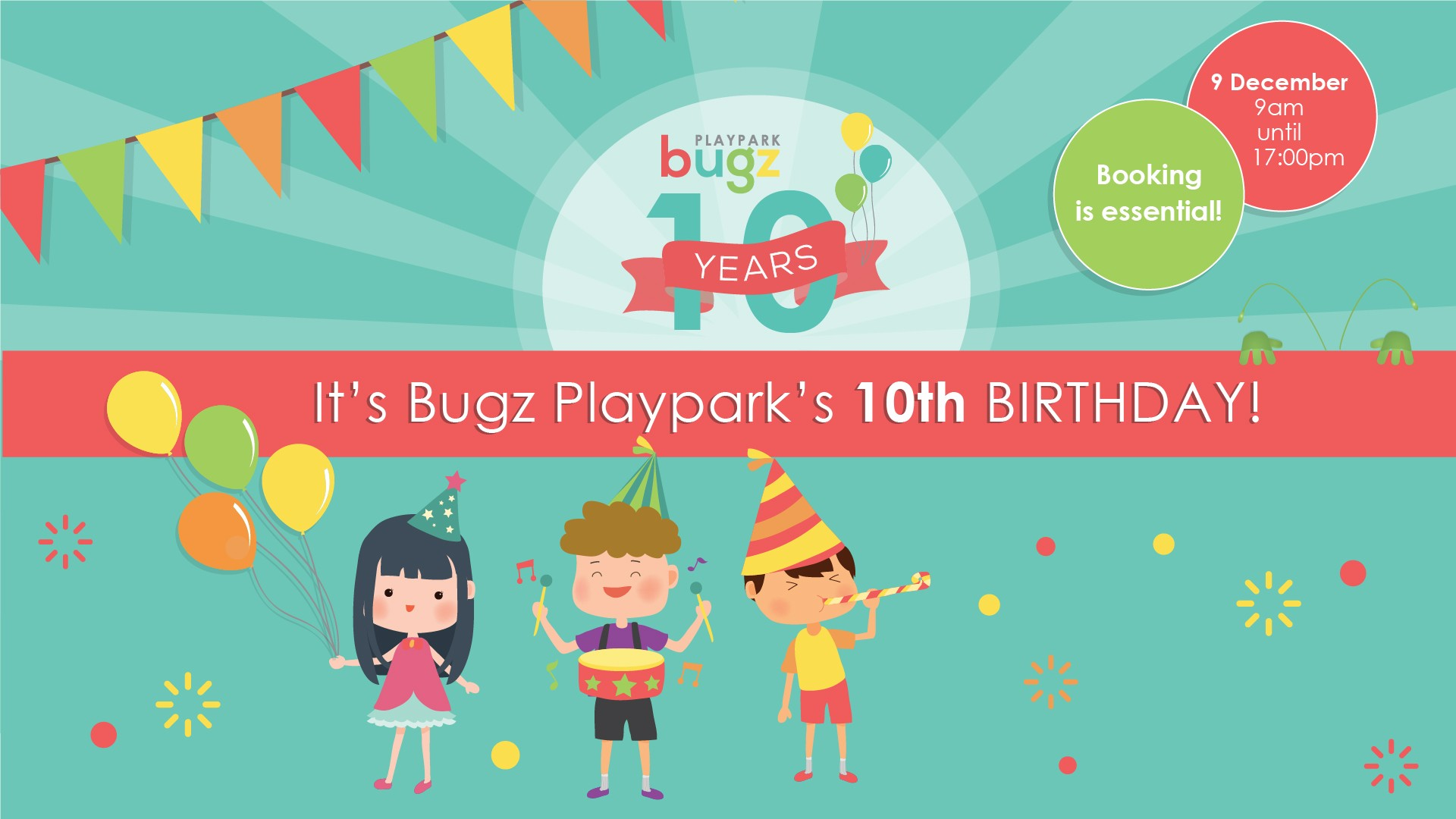 Bugz turns 10!