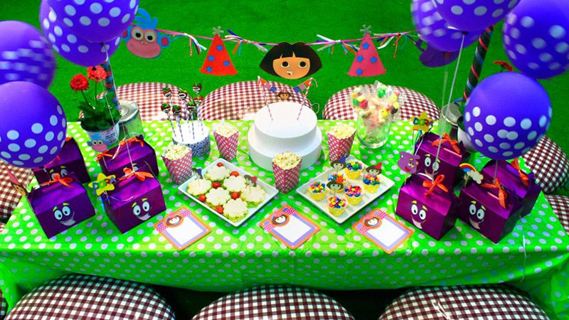 Dora Themed Party