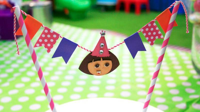 Dora Cake Bunting