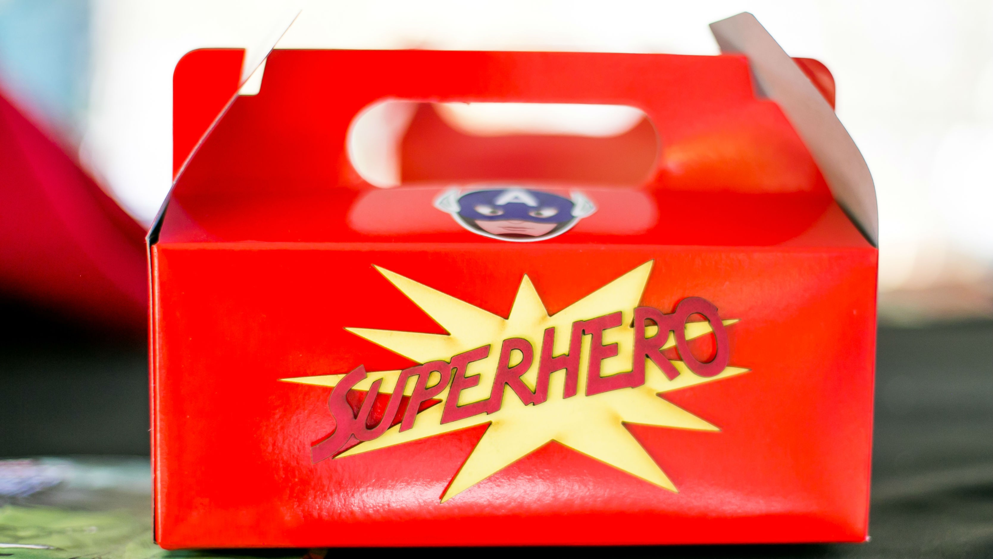 Superhero Themed Party Box