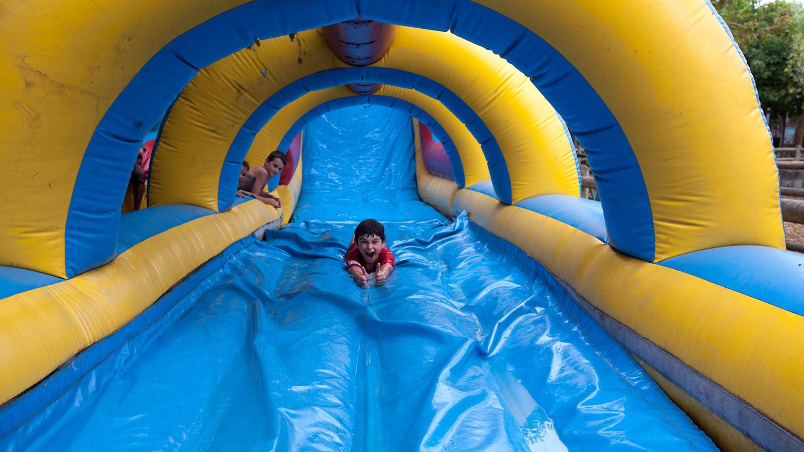 Bugz Playpark | Park & Rides | Water Slide