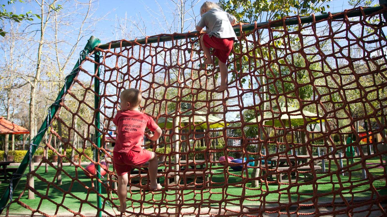 Bugz Playpark | Park & Rides | Climbing Nets