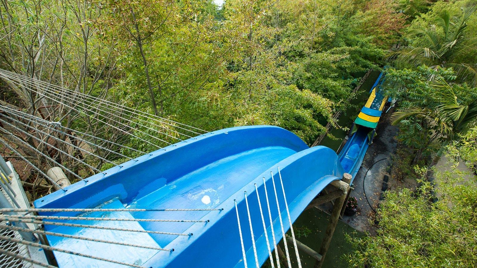 Bugz Playpark | Park & Rides | Speed Water Slide