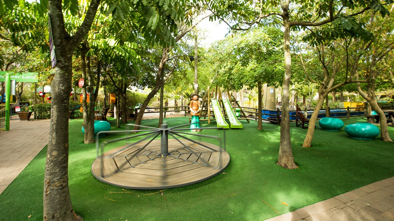 Bugz Playpark | Park & Rides | Outdoor Play Area