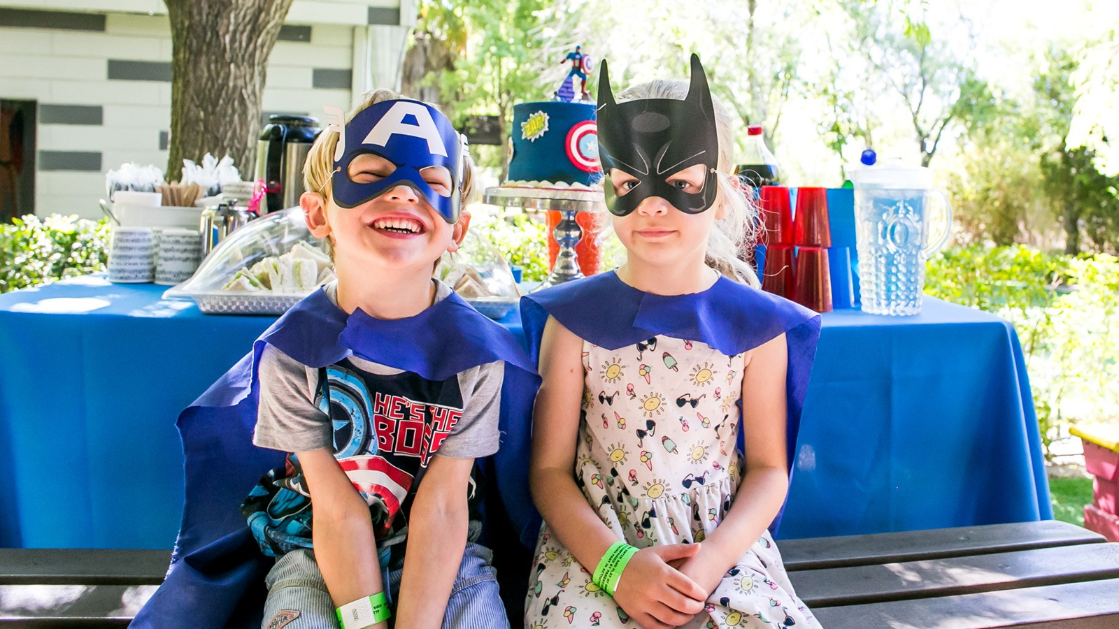 Bugz Playpark | Parties | Superheroes Party