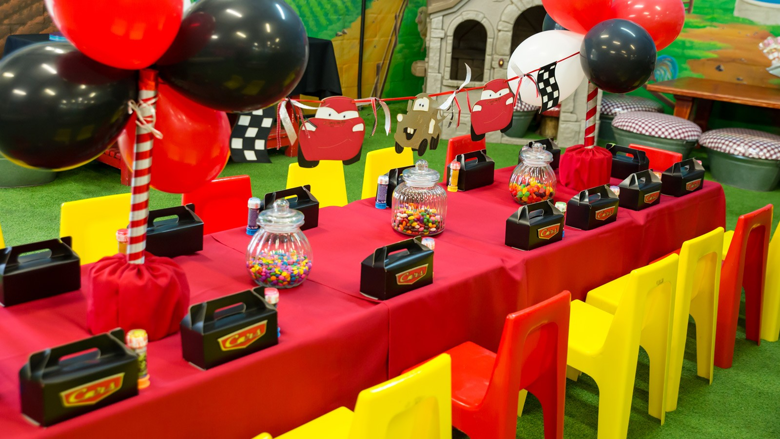 Bugz Playpark | Parties | Cars Party
