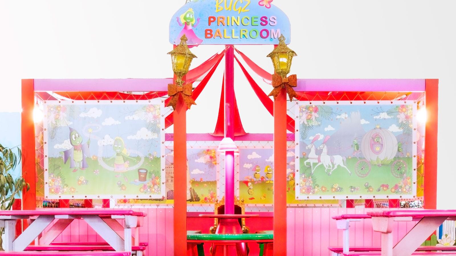 Bugz Playpark | Indoor Party Venues | Princess Ballroom