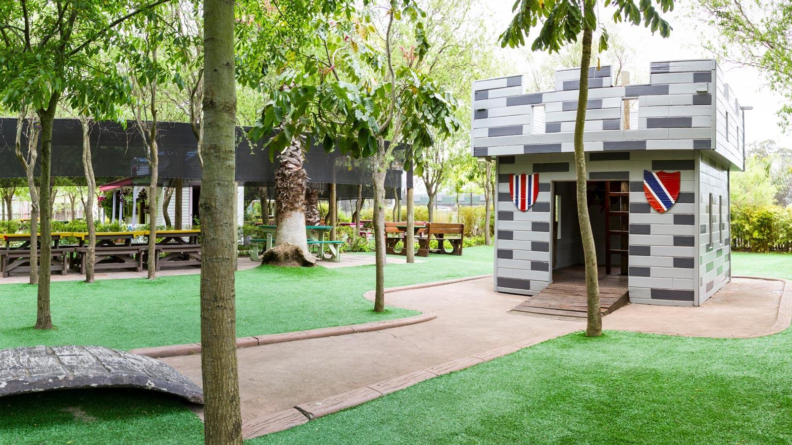 Bugz Playpark | Outdoor Party Venues | Castle