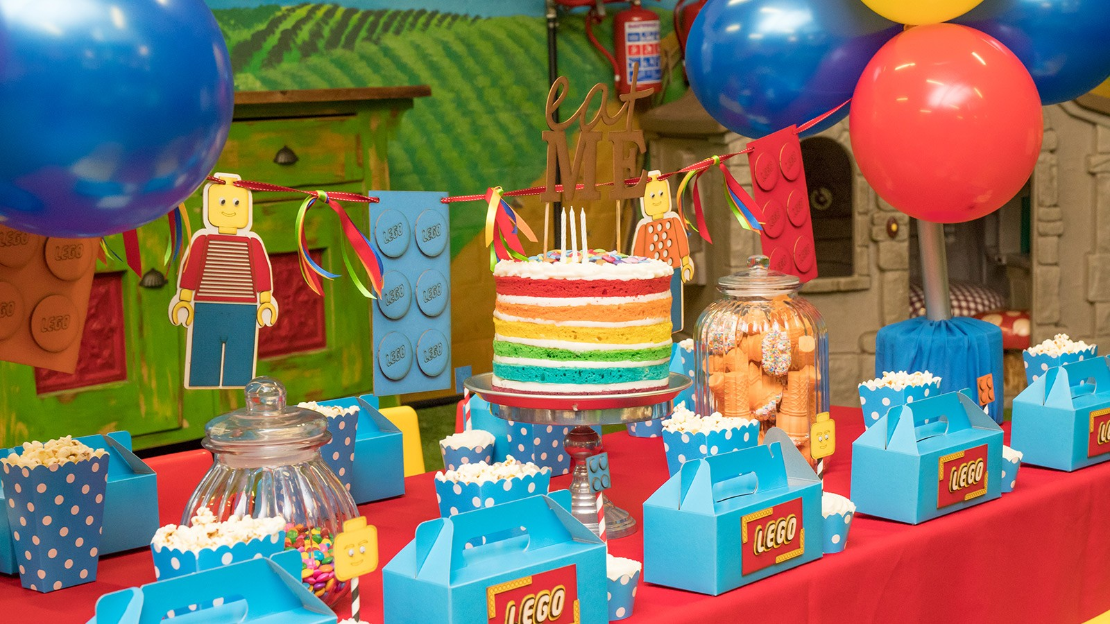 Bugz Playpark | Parties | Lego Party