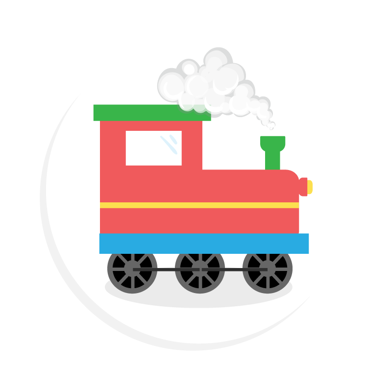 Kids parties - Train