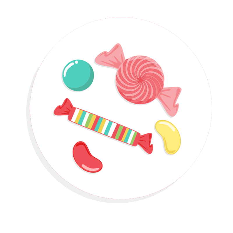 Kids birthday parties - Candyland