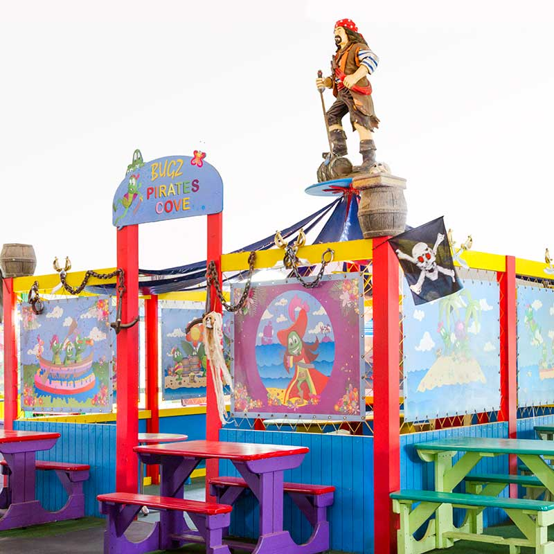 Kids party venues - Pirates Cove