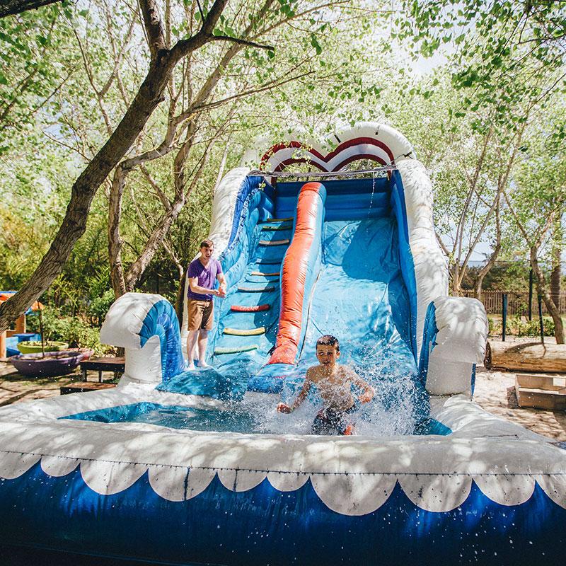 Party Venues - Wave Slide