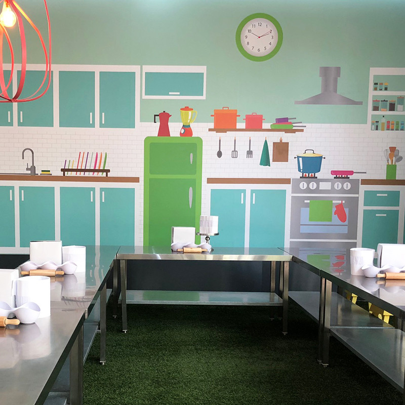 Kids party venues - Cooking Venue