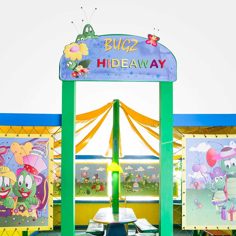 Kids party venues - Hideaway
